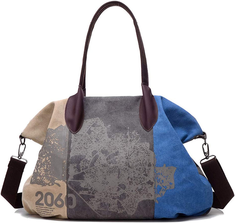 BAG Casual Canvas Handtaschen Frauen Große Kapazität Leinwand Umhängetaschen Frauen Tote Crossbody Shopping Handtasche Messenger B07L77PS99  Billig ideal