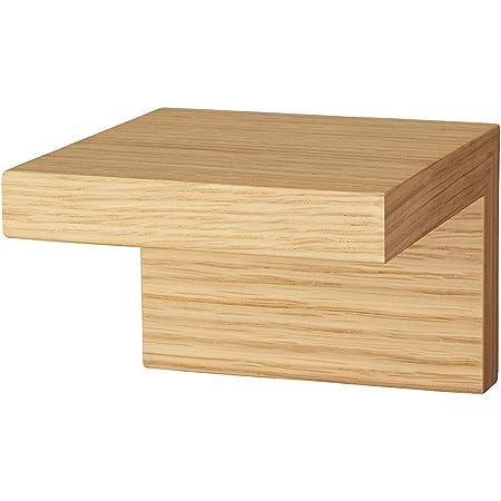 無印良品 壁に付けられる家具棚 オーク材突板 11cm 82944822