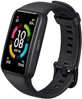 "HONOR Band 6 Smart Wristband 1st Full Screen 1.47"" AMOLED Color Touchscreen SpO2 Swim Heart Rate Sleep Nap Stress AllinOne..."