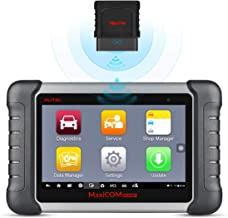 Autel Scan Tool MaxiCOM MK808BT OBD2 Scanner with All System Diagnosis and 23 Service Functions Including Oil Reset, EPB, BMS, SAS, DPF, TPMS Relearn, Key Coding (MD802 All System+MaxiCheck Pro)