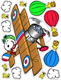 Eureka Peanuts Flying Ace Clings