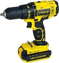 STANLEY Taladro/Atornillador 3/8 Pulgadas 20V y 2 Baterías SCD20C2-B3