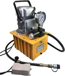 WUPYI2018 220V/750W 7L Pompe Hydraulique Puissance Haute Pression Pompe à Huile Electrique Vitesse de Rotation 1400r / min...