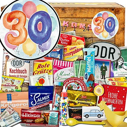 30 Geburtstag + Geschenke 30 Geburtstag + Advent Kalender Ostalgie