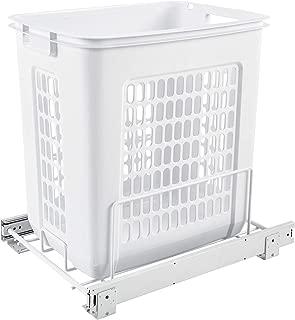 Rev-A-Shelf Pullout Hamper, White