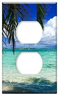 Switch Plate Outlet Cover - Bahamas Beach Caribbean Ocean Island Sand