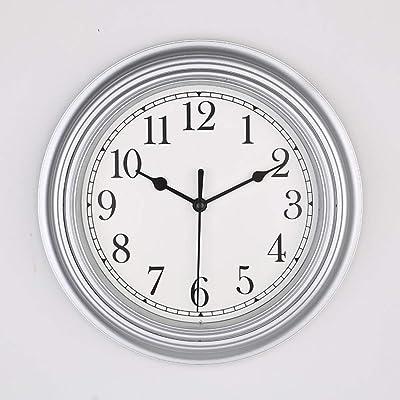 AASRT Study Wall Clock,Simple Quartz Wall Clock Digital Mute Living Room Bedroom Kitchen Clock