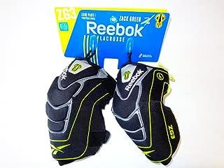 New Reebok ZG3 Arm Pads Medium J89971 Lacrosse Lime/Black