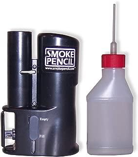 Smoke Pencil Air Leak Detection Hazer – Handheld Smoke Stick Draft Detector Machine with Fog Juice for Detecting Leaks, Puffer Tool for HVAC Technicians Energy Raters Auto Mechanics