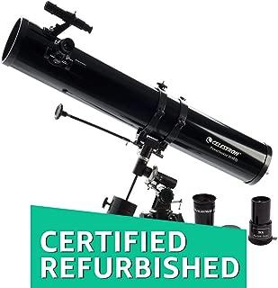 (Renewed) Celestron 114EQ PowerseekerTelescope