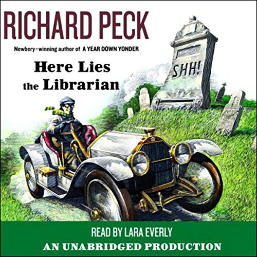 Here Lies the Librarian audiobook cover art