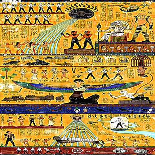 Yingxin34 Rompecabezas de 2000 Piezas para Adultos Rompecabezas de Juegos Familiares Imágenes del Antiguo Egipto Rompecabezas de 2000 Piezas para Adultos y familias