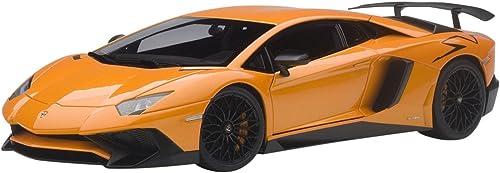AUTOart 74557 mborghini Aventador LP750 4  2015 Echelle 1 18, Orange