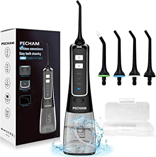 Water Flosser for Teeth, PECHAM Portable Cordless Oral