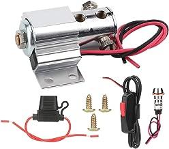 Runde Relais Blinker f/ür GY6 50-250cc Motorr/äder Roller Moped ATV Duokon 3 Pins Motorrad Blinker Blinker