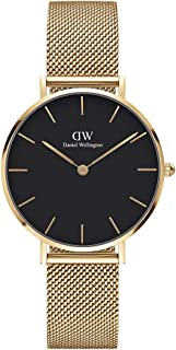 Daniel Wellington Unisex's Petite Evergold, 32mm, Black