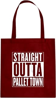 Straight Outta Pallet Town Cotton Canvas Tote Bag