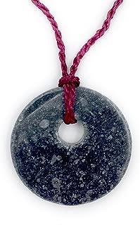 Irish Marble Good Luck Pendant Necklace