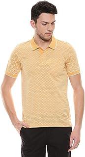 Color Plus Mens Geometric Pattern Polo T-Shirt