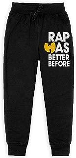 Wu Tang Clan 3 Boys Sweatpants Joggers Sport Training Pants Trousers