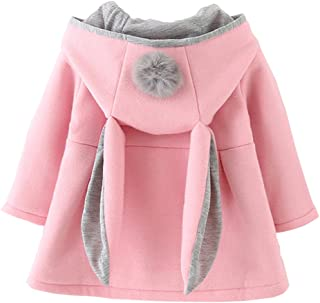 DORAMI Baby Girls Winter Autumn Cotton Warm Jacket Coat