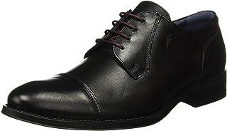 Fluchos | Zapato de Hombre | HERACLES 8412 Memory Negro Zapato de Vestir | Zapato de Piel de Vacuno de Primera Calidad | C...