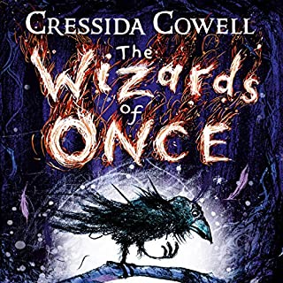 The Wizards of Once     Book 1              By:                                                                                                                                 Cressida Cowell                               Narrated by:                                                                                                                                 David Tennant                      Length: 5 hrs and 56 mins     427 ratings     Overall 4.8