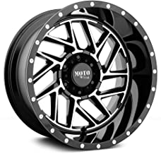 MOTO METAL MO985 BREAKOUT Gloss Black Machined Wheel Chromium (hexavalent compounds) (16 x 8. inches /5 x 72 mm, -6 mm Offset)
