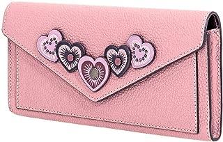 COACH Women's Heart Applique Soft Wallet
