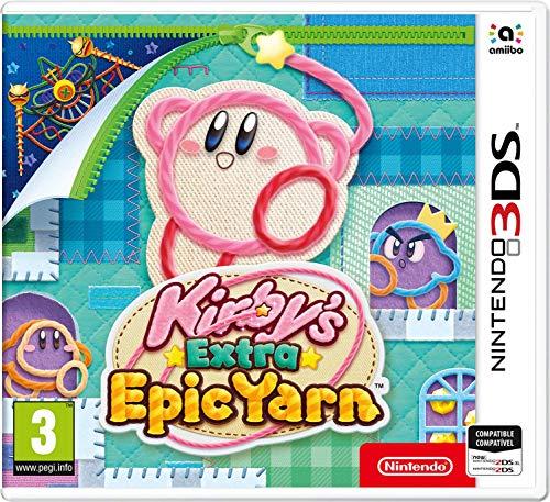 3DS Kirby Extra Epic Yarn (Más Kirby en el reino de los hilos)