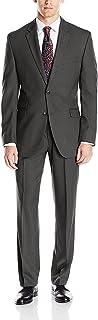 Men's Slim Fit Suit with Hemmed Pant