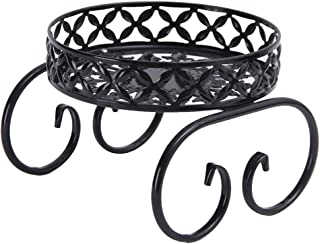 Cabilock Metal Plant Stand Iron Art Flower Pot Holder Potted Holder Rack for Indoor Outdoor Garden Plant Container Accesso...