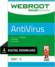Webroot Antivirus Protection Internet Security | 3 Devices | 1-month subscription