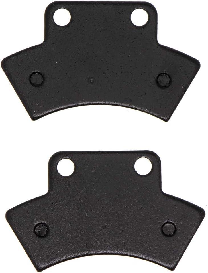 NICHE Rear Las Vegas Mall Center Brake Pad Set Polaris 35% OFF for Semi 2200899 2200464