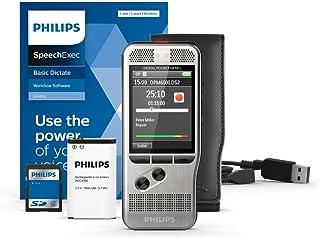 Philips PocketMemo DPM6000 digitale dicteerapparaat, audiorecorder, opnameapparaat incl. dicteersoftware SpeechExec Basic ...