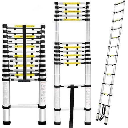 greenwoodhomer Teleskopleiter rund Fu/ß Abdeckung Multifunktionsleiter Klappleiter F/ächerform Fu/ßabdeckung Anti-Rutsch-Matte En131 Leiter Universal