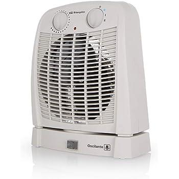 Orbegozo FH 7001 – Calefactor baño con movimiento oscilante, 2 ...