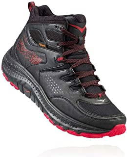 HOKA ONE ONE Men's Tor Tech Mid Waterproof Hiking Shoe,Anthracite/Black