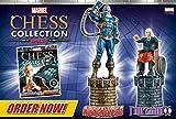 Eaglemoss Marvel Chess Collection Double Edition Apocalypse & Professor Xavier