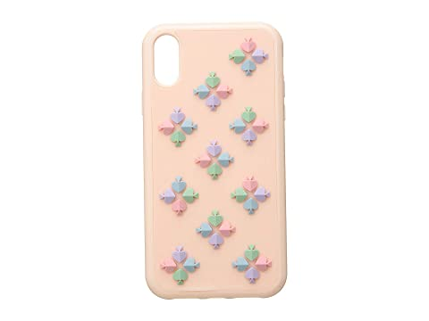 Kate Spade New York Silicone Spade Flower Phone Case for iPhone XR