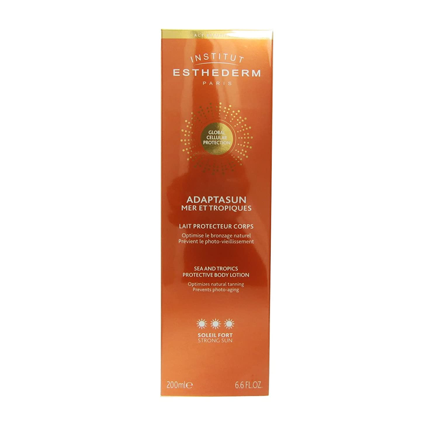 利益全員価格Institut Esthederm Protective Body Lotion Strong Sun 200ml [並行輸入品]