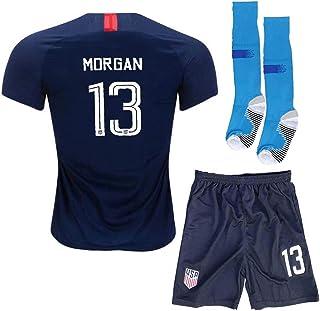 dddd501dd Eyibv Youth Morgan Jersey 2018 19 USA Alex Home Boys Kids 13 National Shorts