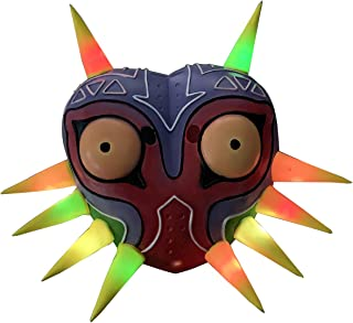 Led Light Majora's Mask Colorful Latex Mask Cosplay Costume Accessory Prop