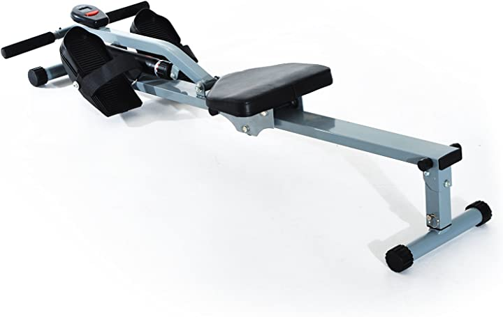 Vogatore professionale per fitness allenamento a casa con display 130 x 47.5 x 67cm homcom A91-048