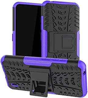 Boleyi Case for OppoA33(2020), [Heavy Duty] [Slim Hard Case] [Shockproof] Rugged Tough Dual Layer Armor Case With stand ...