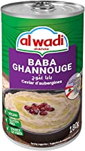 Al Wadi Baba Ghannouge, 180 Gm (Pack Of 1)