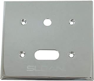 Sloan Cover Plate, for Use with Mfr. No. Royal 111 ESS, Royal 186-1 ESS