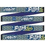 Gibbon Slacklines Fun Line mit Treewear, Blau, 15 Meter (12,5m Band + 2,5m Ratschenband), inklusive Ratschenschutz und Baumschutz, Breite 2″/5cm Slackline-Set, Komplettset 12,5 m Webbing + 2,5 m - 4