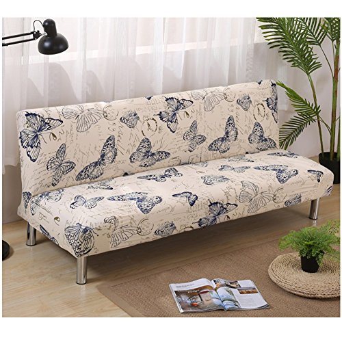 Funda sofá cama Futon Protector plegable sin brazos