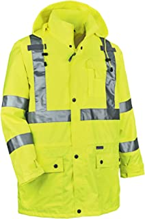 Yellow Helly Hansen 76072/_369-3XL Size 3X-Large Aberdeen Flame Retardant Jacket